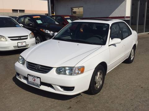2002 Toyota Corolla for sale at Venture Auto Inc in South Gate CA