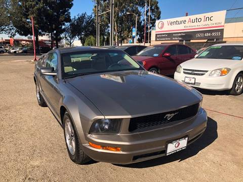 2005 Ford Mustang for sale at Venture Auto Inc in South Gate CA