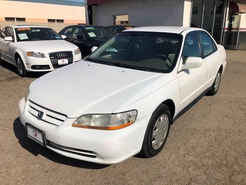 2002 Honda Accord for sale at Venture Auto Inc in South Gate CA