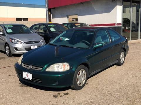 1999 Honda Civic for sale at Venture Auto Inc in South Gate CA