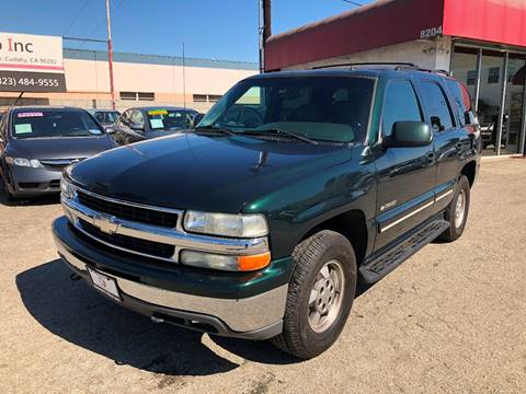 2002 Chevrolet Tahoe for sale at Venture Auto Inc in South Gate CA