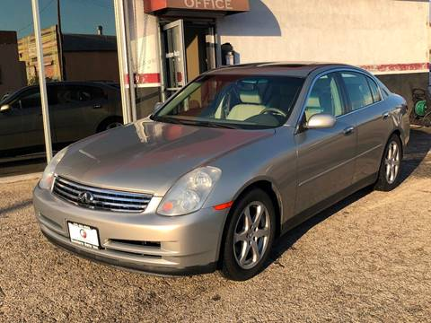 2003 Infiniti G35 for sale at Venture Auto Inc in South Gate CA