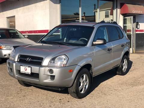 2008 Hyundai Tucson for sale at Venture Auto Inc in South Gate CA