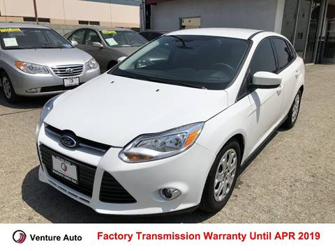 2012 Ford Focus for sale at Venture Auto Inc in South Gate CA
