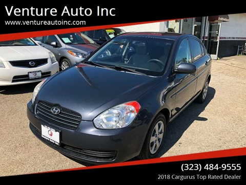 2010 Hyundai Accent for sale at Venture Auto Inc in South Gate CA