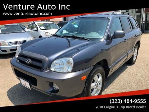 2006 Hyundai Santa Fe for sale at Venture Auto Inc in South Gate CA