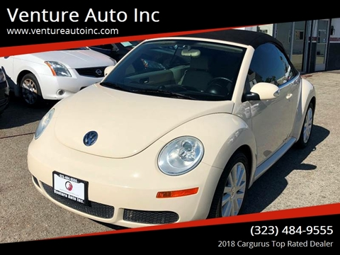 2009 Volkswagen New Beetle for sale at Venture Auto Inc in South Gate CA