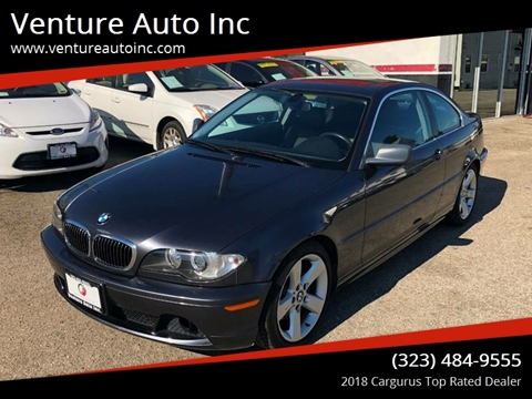 2005 BMW 3 Series for sale at Venture Auto Inc in South Gate CA