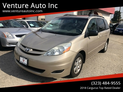 2006 Toyota Sienna for sale at Venture Auto Inc in South Gate CA