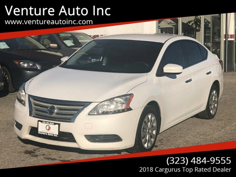 2013 Nissan Sentra for sale at Venture Auto Inc in South Gate CA