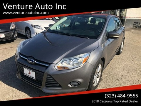2014 Ford Focus for sale at Venture Auto Inc in South Gate CA