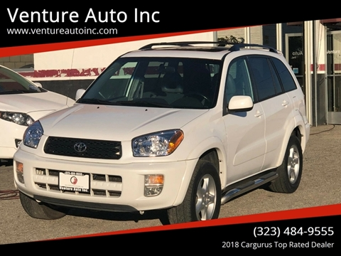 2003 Toyota RAV4 for sale at Venture Auto Inc in South Gate CA