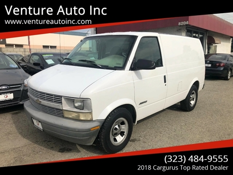 2001 Chevrolet Astro Cargo for sale at Venture Auto Inc in South Gate CA