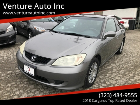 2005 Honda Civic for sale at Venture Auto Inc in South Gate CA