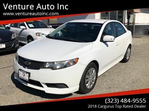 2010 Kia Forte for sale at Venture Auto Inc in South Gate CA