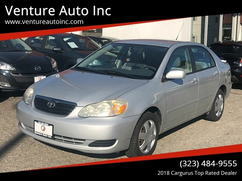 2006 Toyota Corolla for sale at Venture Auto Inc in South Gate CA