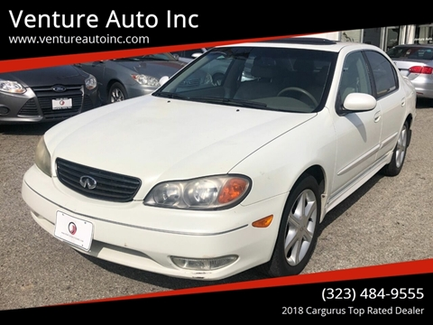 2002 Infiniti I35 for sale at Venture Auto Inc in South Gate CA
