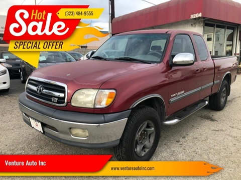 2001 Toyota Tundra for sale at Venture Auto Inc in South Gate CA