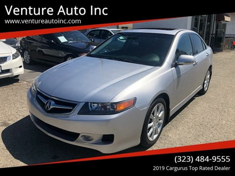 2008 Acura TSX for sale at Venture Auto Inc in South Gate CA