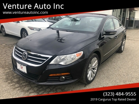 2010 Volkswagen CC for sale at Venture Auto Inc in South Gate CA