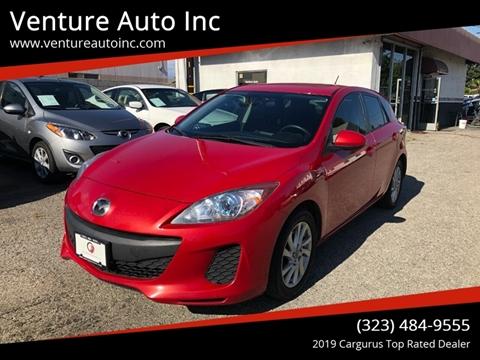 2013 Mazda MAZDA3 for sale at Venture Auto Inc in South Gate CA