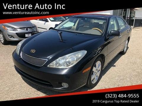 2006 Lexus ES 330 for sale at Venture Auto Inc in South Gate CA