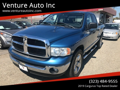 2004 Dodge Ram Pickup 1500 for sale at Venture Auto Inc in South Gate CA