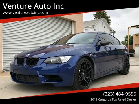 2012 BMW M3 for sale at Venture Auto Inc in South Gate CA