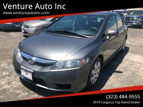 2009 Honda Civic for sale at Venture Auto Inc in South Gate CA