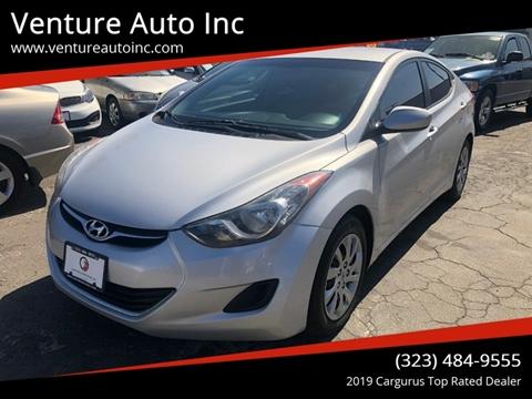 2012 Hyundai Elantra for sale at Venture Auto Inc in South Gate CA