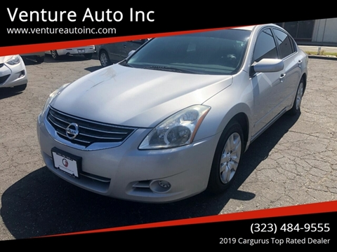 2011 Nissan Altima for sale at Venture Auto Inc in South Gate CA