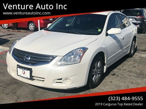 2010 Nissan Altima for sale at Venture Auto Inc in South Gate CA