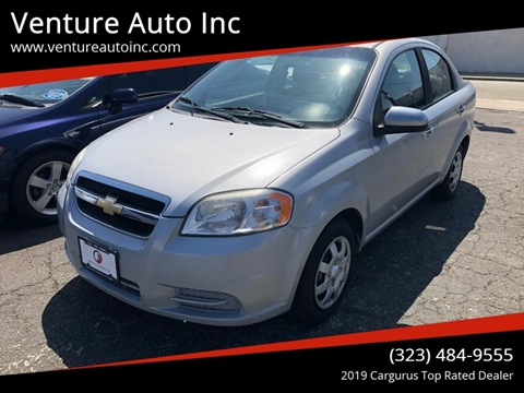 2011 Chevrolet Aveo for sale at Venture Auto Inc in South Gate CA