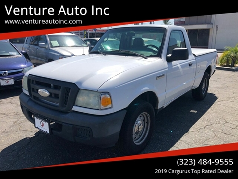 2007 Ford Ranger for sale at Venture Auto Inc in South Gate CA