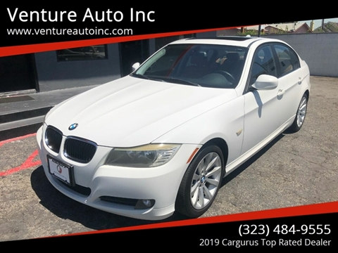 2010 BMW 3 Series for sale at Venture Auto Inc in South Gate CA