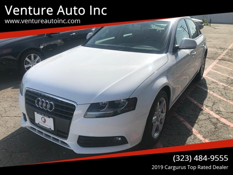 2009 Audi A4 for sale at Venture Auto Inc in South Gate CA