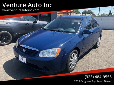 2006 Kia Spectra for sale at Venture Auto Inc in South Gate CA