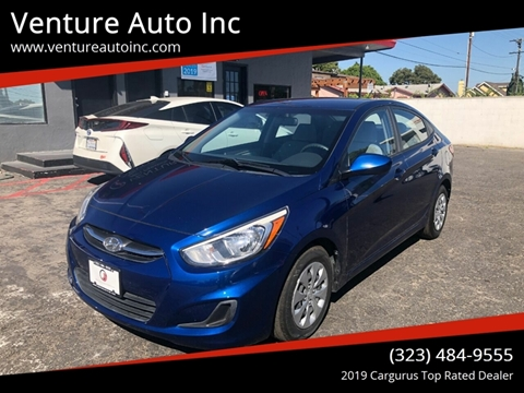 2015 Hyundai Accent for sale at Venture Auto Inc in South Gate CA