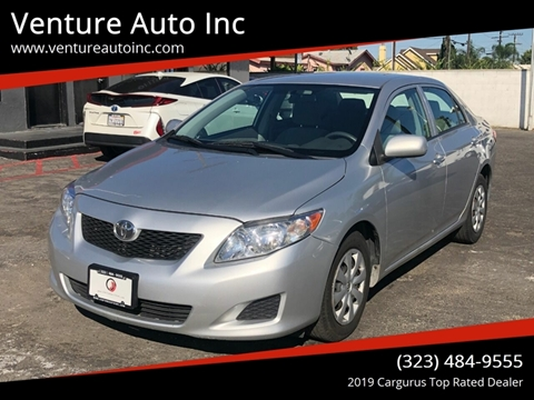 2009 Toyota Corolla for sale at Venture Auto Inc in South Gate CA