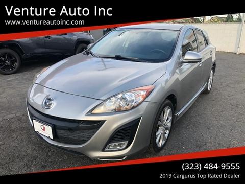 2010 Mazda MAZDA3 for sale at Venture Auto Inc in South Gate CA