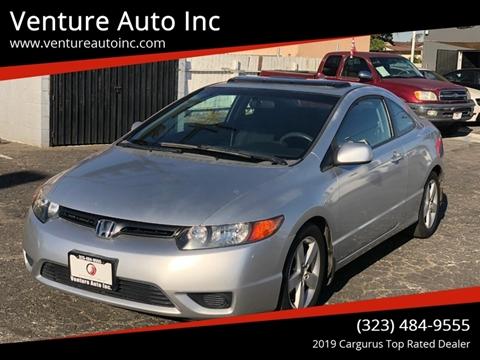 2007 Honda Civic for sale at Venture Auto Inc in South Gate CA