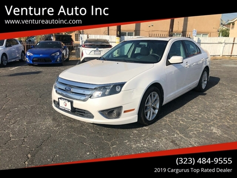 2012 Ford Fusion for sale at Venture Auto Inc in South Gate CA