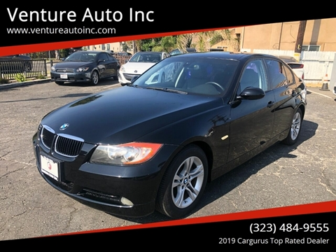2008 BMW 3 Series for sale at Venture Auto Inc in South Gate CA