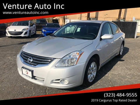2012 Nissan Altima for sale at Venture Auto Inc in South Gate CA