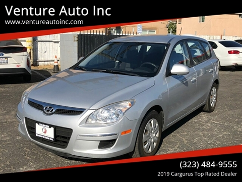 2010 Hyundai Elantra Touring for sale at Venture Auto Inc in South Gate CA