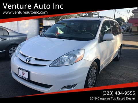 2007 Toyota Sienna for sale at Venture Auto Inc in South Gate CA