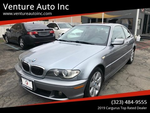2006 BMW 3 Series for sale at Venture Auto Inc in South Gate CA