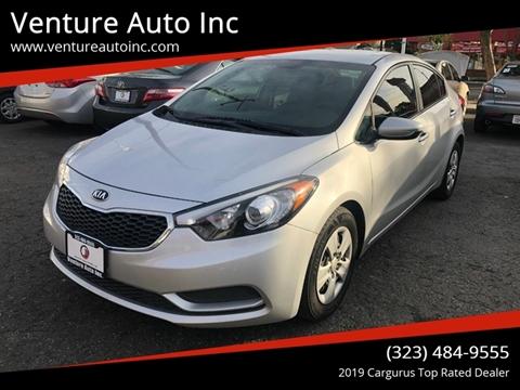 2015 Kia Forte for sale at Venture Auto Inc in South Gate CA