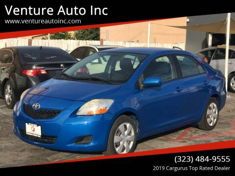 2010 Toyota Yaris for sale at Venture Auto Inc in South Gate CA