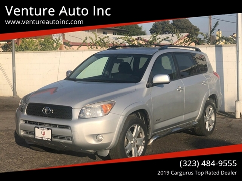 2006 Toyota RAV4 for sale at Venture Auto Inc in South Gate CA